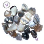 Grey Botswana Agate Tumble Stone